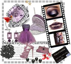 Mauveulous, created by sarahutton on Polyvore