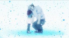 Ore Monogatari, their special first kiss. didn't know how this was going to work out, but the anime did a great job of making it sweet.