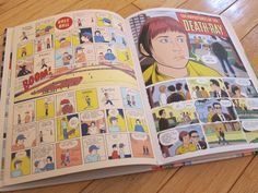 """""""Daniel Clowes' comic book, Eightball # 23 contained a 48 page story called 'The Death–Ray.' It's a superhero origin story about a teenage boy named Andy who discovers he has superpowers whenever he takes a puff of a cigarette.    I won't spoil the story by telling you how Andy acquired this ability, but he also discovers a costume along with a comical-looking ray gun that can instantly and silently remove any life-form from the face of the Earth without a trace. Andy and his loyal sidekick…"""