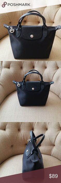 ae3ade1066 Longchamp Le Pliage Neo small Black. Excellent condition. Longchamp Bags  Mini Bags Longchamp Neo