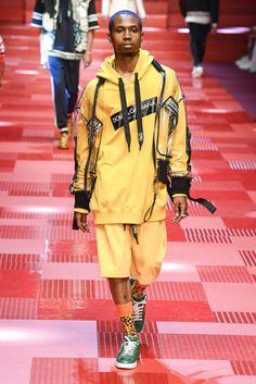 Dolce & Gabbana Printemps/Eté 2018 -Milan -Menswear