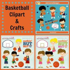 Basketball Clipart and Basketball Craft Ideas