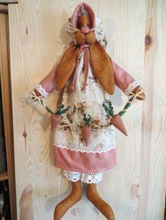 Laura, die Häsin - Anleitung für Hasenfrau ca. 55 cm