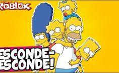 ESCONDE-ESCONDE DOS DESENHOS! - Roblox (Cartoon Hide 'n Seek)