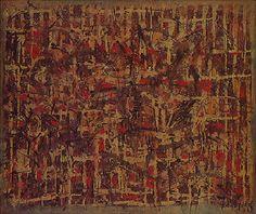 Pequena Cidade em Formação 1953   Antonio Bandeira óleo sobre tela, c.i.d. 61.00 x 50.00 cm Coleção Gilberto Chateaubriand - MAM RJ