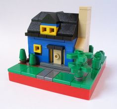 "brickadelics: ""Micro Cottage """