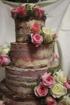 Naked Cake Hochzeitstorte Hochzeitsmotto aus M wird M, Pastell und Vintage im Riessersee Hotel Garmisch-Partenkirchen, Bayern