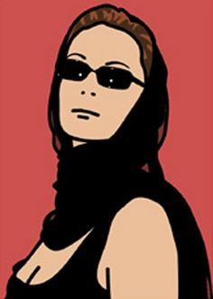 Julian Opie: 'Monique Businesswoman - Housewife 2'