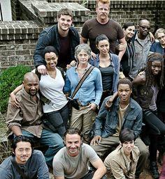 The Walking Dead season 6 cast