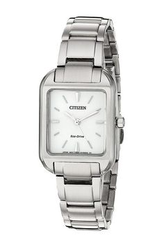 Citizen Watches EM0490-59A Eco-Drive (Silver Tone) Watches - Citizen Watches, EM0490-59A Eco-Drive, EM0490-59A, Jewelry Watches General, Watches, Watches, Jewelry, Gift, - Street Fashion And Style Ideas