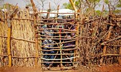South Sudan : Refugees from South Kordofan at Yida Refugee Camp.