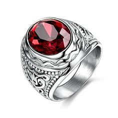 Jewelry & Accessories Mytys Vintage Old Silver Retro Punk Metal Rings For Women Wrap Geometric Design Big Ring Fashion Jewelry Anel Wholesale R2016 Superior Performance