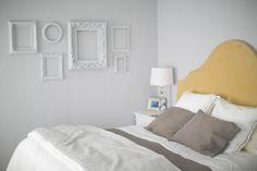 White blank photo frames