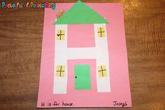 {Letter H} House