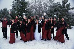 Winter Wedding! :)