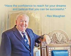 Meet Chairman and CEO of Forever Living Products Mr Rex Maughn.