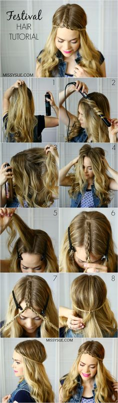 #Festival #Hairstyle #Braid -v-