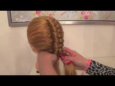 How to : Suspended Infinity Braid on yourself | Braids for long medium hair - YouTube