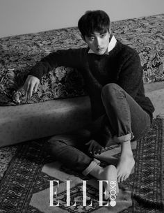 EXO member D.O appears very solemn and serious in his recent pictorial for ELLE magazine. EXO member D. O appears very solemn and serious in his recent pictorial for ELLE magazine.