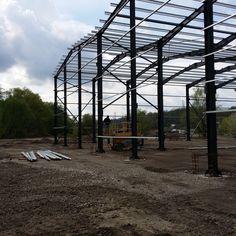 Structura Metalica Hala Spaleck din Resita - Duna-steel.ro