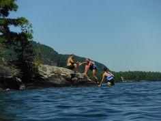 Lake George Camping