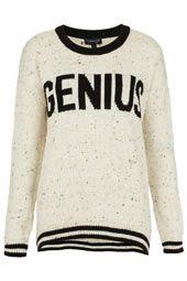Knitted Genius Jumper