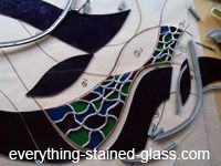 How to make stained glass! Great site with instructions.