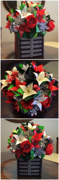 My Chemical Romance bouquet. Follow @craftycreationsbycaitlyn on instagram to see more!
