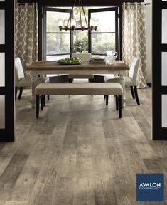 Flooring that gives a rustic feel of hardwood but is more durable and budget-friendly? It must be vinyl flooring!