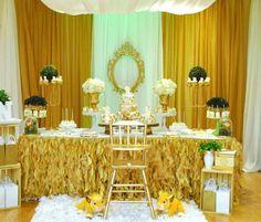 Dessert Table - Set up idea