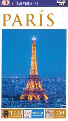 """""""Paris"""". Guías visuales donde encontrar numerosas fotografías, ilustraciones, mapas, planos alzado de los principales monumentos, intinerarios por zonas y paseos inusuales además de una gran selección de hoteles, restaurantes, tiendas y eventos."""