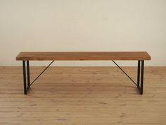 (MTO) GALA steel bench legs 154 (small) - Hiromatsu online shop