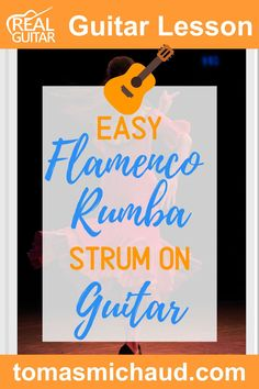 Flamenco music is all about the feel and the rhythm of the song. In this guitar lesson, you will learn an easy version of a strum called a Rumba strum. There are a lot of variations to this Flamenco strum. While it might sound complicated, it is pretty simple. You will learn step-by-step how to play this stylish strumming pattern. You won't need your pick for this guitar lesson because we're using a thumb and index finger technique. #flamencoguitar #spanishguitar #learnguitar Play Guitar Chords, Learn Acoustic Guitar, Learn To Play Guitar, Indie Music, Folk Music, Music Lessons, Guitar Lessons, Guitar Online, Guitar Tutorial