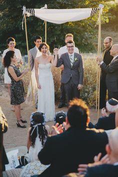 An Intimate Baldwin Hills Wedding A Practical Wedding: Blog Ideas for the Modern Wedding, Plus Marriage