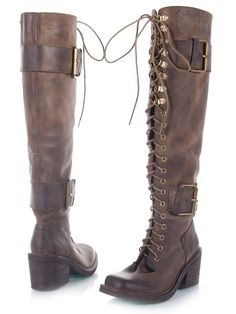 Available on eBay!!!  Jeffrey Campbell Tamara Over The Knee High Women Leather Boot