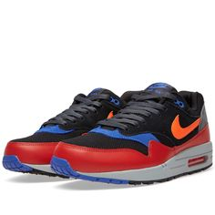 Nike Air Max 1 Essential (Black & Hyper Crimson)