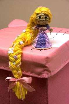 PATTERN Rapunzel Tangled Disney Princess Crochet Doll by Sahrit. $4.95 USD, via Etsy.