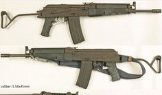 Rare East-German STG-942 prototype assault rifle from 1988.