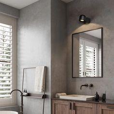Hallway Mirror, Hallway Lighting, Bar Lighting, Bathroom Lighting, Lighting Design, Led Wall Lamp, Wall Sconces, Led Ceiling Lights, Full Bath
