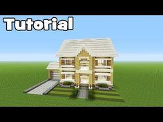 Minecraft Tutorial: How To Make A Realistic Suburban Family House | Minecraft Stream