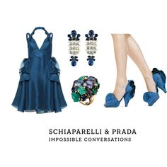 An Ocean of Blue, created by leiastyle on Polyvore