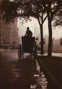At Central Park, 1900.