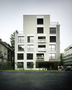 Alfred-Escher-Strasse Apartments by Züst Gübeli Gambetti - News - Frameweb #architect #architecture #building