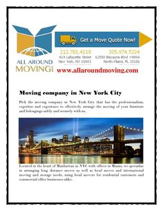 Moving company in NYC  - made with simplebooklet.com