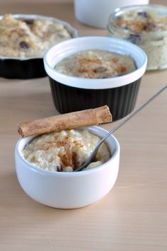 Around the World Treats: Spanish arroz con leche.