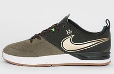 Nike SB Project BA | Green, Gold & Gum