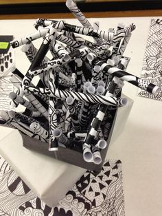Art Room Blog: Zentangles             ArtRoomBlog