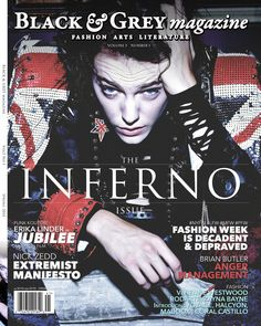 Jason Stoneking's gonzo coverage of Paris Fashion Week is featured in the Inferno issue of Black & Grey magazine, along with photos by Leslie McAllister.