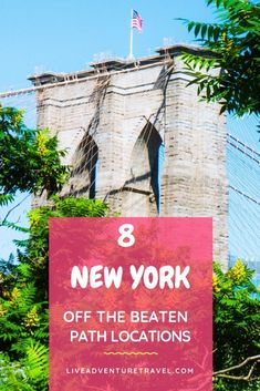 Top 9 New York Off the Beaten Path attractions, get ready for astonishing views, a secret cable car and a chance to see Jimmy Fallon live. Usa Travel Guide, Travel Usa, Canada Travel, Travel Tips, Travel Guides, New York Washington, Washington Street, New Jersey, Jersey City