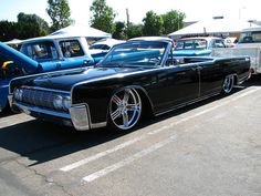 1964 Lincoln Continental Convertible Lowrider by mrbinfv, via Flickr
